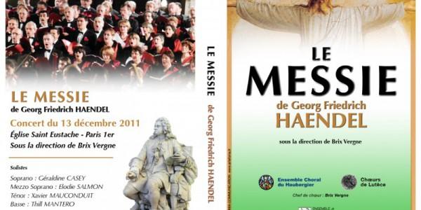 DVD Concert Le Messie Saint Eustache