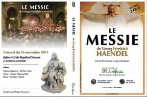DVD Concert Le Messie à Asnières